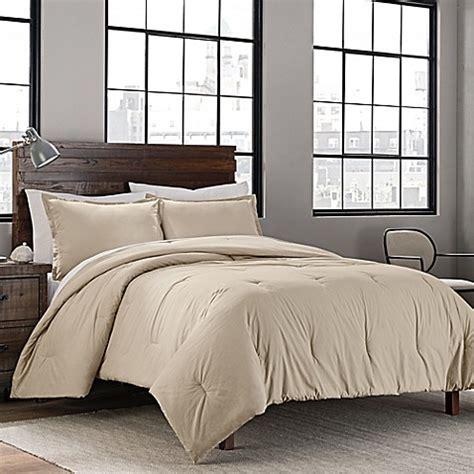 solid comforter sets garment washed solid comforter set bed bath beyond