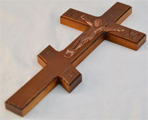 Handmade Crucifix - wooden wall cross carved crucifix jesus