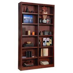 bookcase office depot concepts in wood wide bookcase 12 shelves cherry by