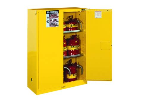 self closing flammable cabinet flammable storage cabinet self closing doors 45 gallons