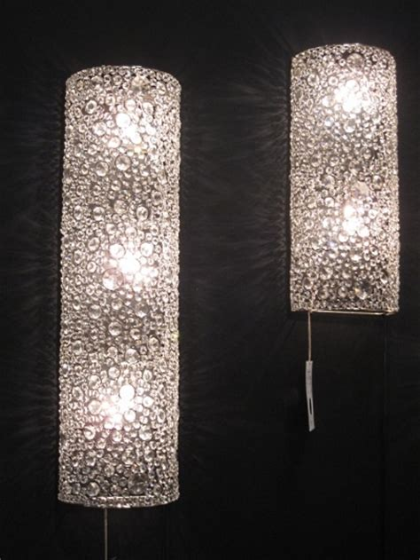 crystal bathroom sconce lighting crystal sconce ls from four hands master bath remodel