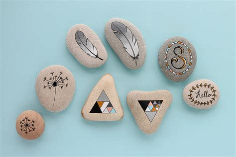 How To Make A Windowsill Scraps Of Us Painted Pebbles