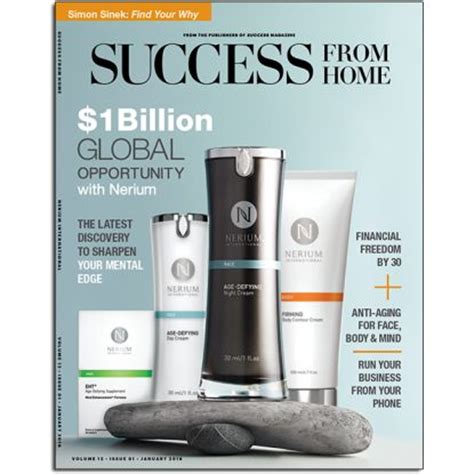 new success from home magazine nerium international