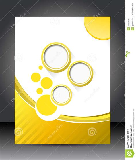 design layout template stock illustration illustration of