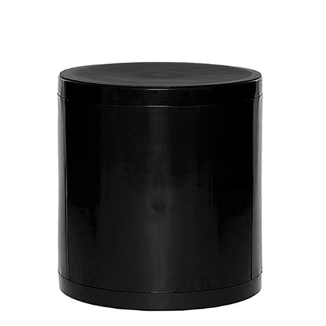 Storage Stool by Otto Storage Stool Solid Black
