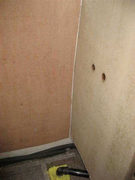 Rv Bathroom Paneling Rv Shower Remodel Stripped Need To Add Frp Paneling