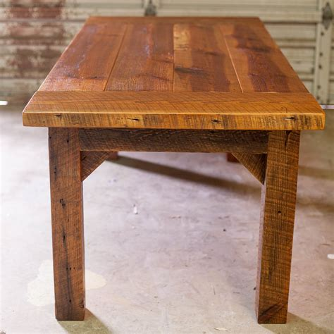 Large Rustic Dining Room Tables Farm Tables Reclaimed Wood Farm Table Woodworking