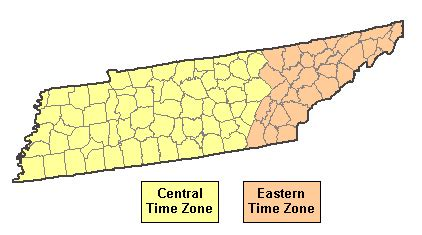 tennessee time zone map time zone map tennessee wisconsin map