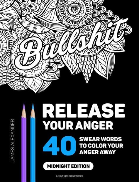 Release Anger 4 Letter Word Best 25 Free Coloring Pages Ideas On