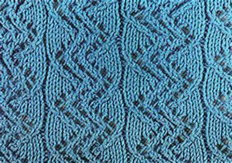 zig zag cable pattern lace zig zag ribbed knitting stitch knitting kingdom