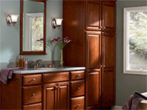 bathroom and kitchen cabinets guide to selecting bathroom cabinets hgtv