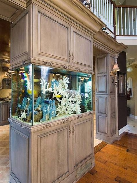 Fish Tank In Kitchen by 8 Extremely Interesting Places To Put An Aquarium In Your Home