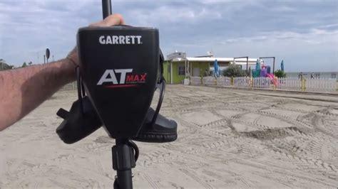 Garrett At Max Metal Detector metal detecting testing the new garrett quot at max