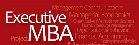 Executive Mba Cost by Executive Mba Cost Finance Your Mba While Working