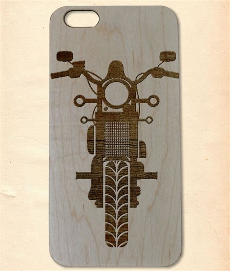 Handmade Wooden Iphone Cases - motorbike handmade wooden cover for iphone 6 6s plus