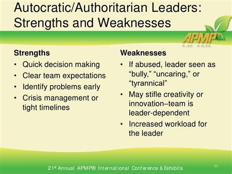 authoritative biography definition strengths and weaknesses autocratic leader pinterest