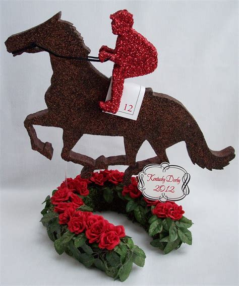 horse themed events kentucky derby themed centerpieces derby party ideas