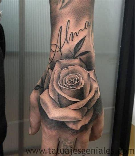 imagenes de tattoo de flores 80 tatuajes de rosas y sus significados im 225 genes