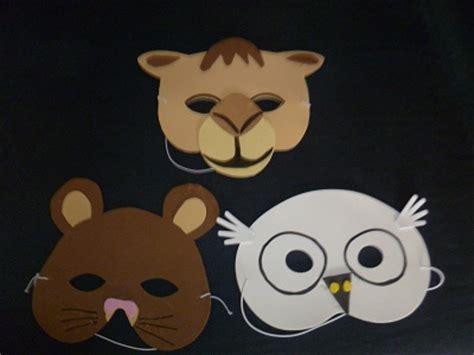 printable camel mask template camel masks how to make a camel mask craft ideas