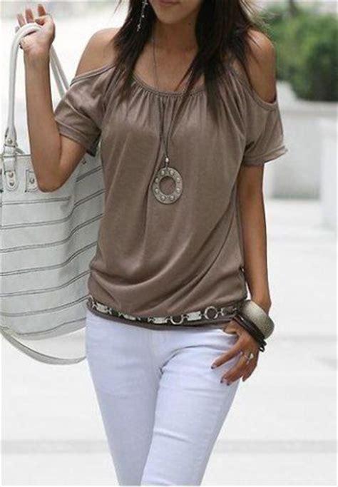 Simple Capture Sleeve simple scoop neck sleeve the shoulder solid