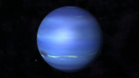 Planet Neptune by Animation Of The Planet Neptune Motion Background
