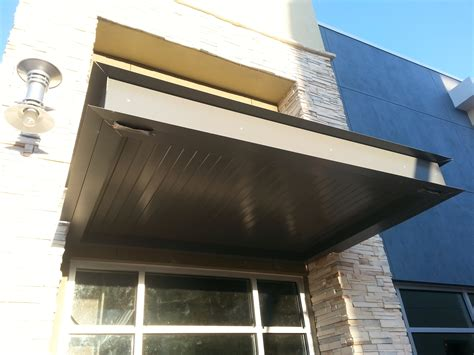 Canopy With Awning by Canopy With Channel Barfield Fence And Fabrication