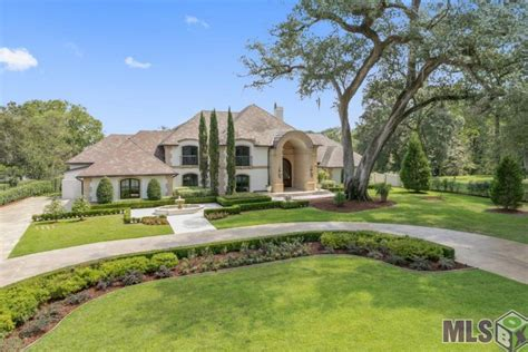 houses for sale baton rouge 5 million lakefront mediterranean mansion in baton rouge la homes of the rich