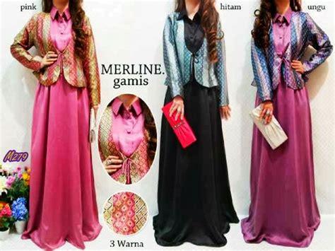 Maxi Gamis Dress Busana Muslim Lryasma Fit L Free Clutch busana muslim gamis marline kode baju m279 harga