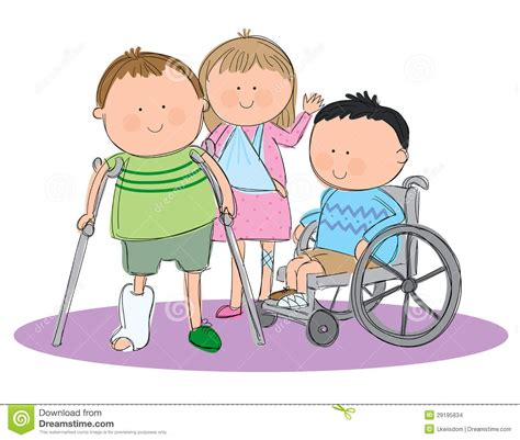 lade bambino groupe d enfants malades images stock image 29195834