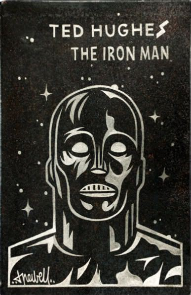 earth moon information about ted hughes the iron woman a sequel to the iron man 12 best images about the iron man on night illustration print poster and the iron giant