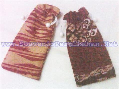 Sarung Kacamata Serut 3 sarung handphone batik serut souvenir pernikahan