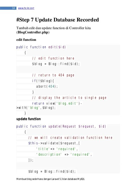membuat web sederhana dengan laravel laravel 5 tutorial membuat blog sederhana dengan laravel 5 3