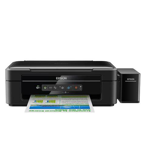 Printer Epson L355 epson l355 inkjet printer black buy epson l355 inkjet printer black at low price in