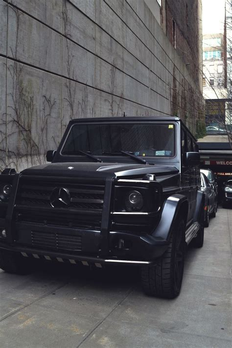 mercedes g wagon blacked out mercedes benz g63 amg matte black fast n furious pinterest