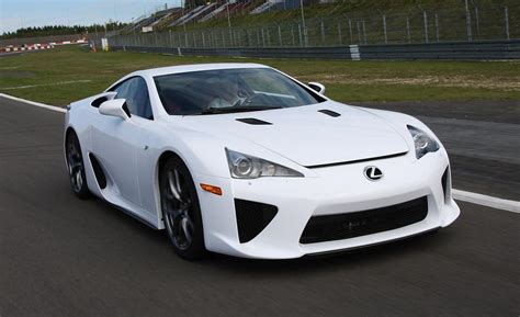 lexus sport car lfa car and driver