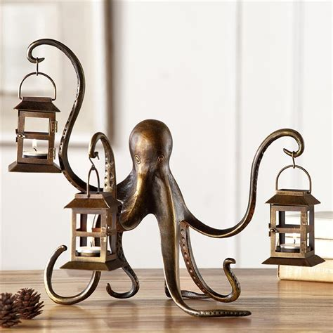 spi home decor octopus lantern by spi home 154 you save 56 00