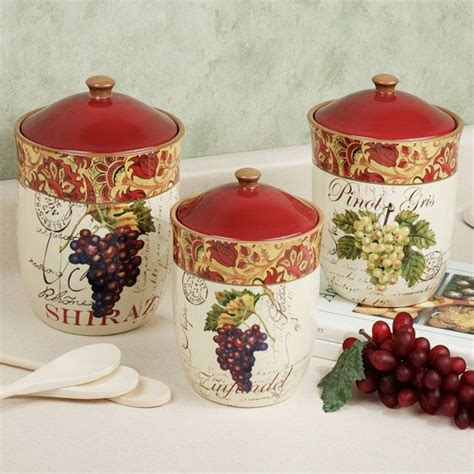 grape canister sets kitchen grape kitchen items kitchen decor accessories 187 grape