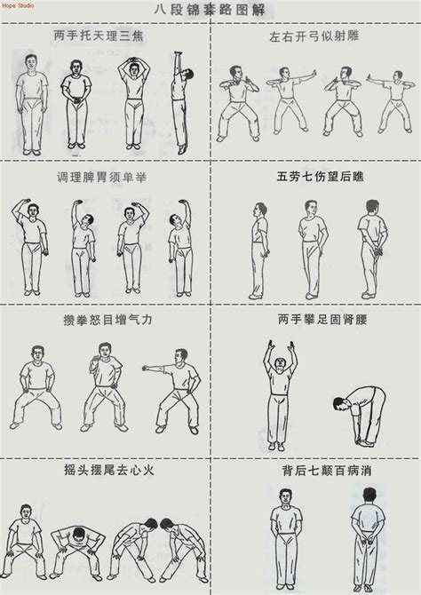 eight section brocade ba duan jin jade wushu