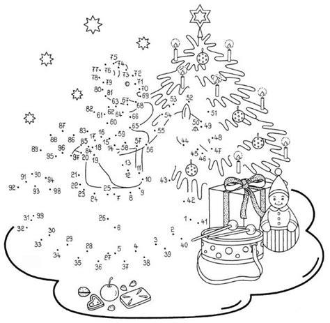 dibujos de navidad para colorear por numeros dibujo de unir puntos de 225 rbol en navidad dibujo para