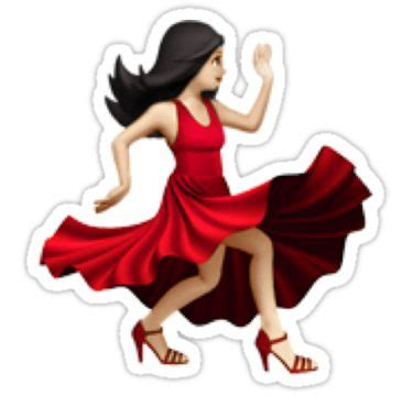 salsa dancing emoji quot dancing emoji quot stickers by lauren c redbubble