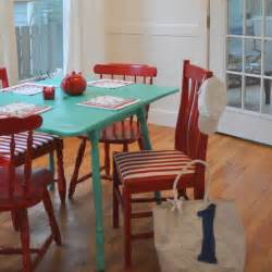 Painting Kitchen Table And Chairs Painted Chair Ideas Dreaming Of June