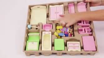 youtube dolls house unboxing george at asda s new wooden dolls house furniture youtube