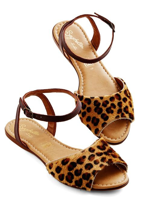 leopard sandals seychelles brand new sandal in leopard mod retro vintage