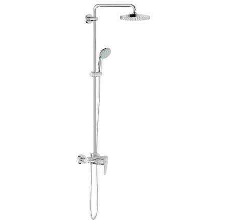 Touch Kitchen Faucets Reviews by Grohe 26244000 New Tempesta Cosmopolitan 200 Shower System