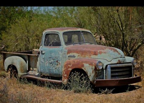 rusty pickup truck 0ld 1950 rusty gmc truck old rusty classic truck