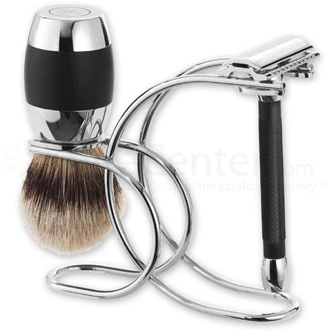 Best Kitchen Knives For The Money by Merkur 3 Piece Razor Shave Set Polished Chrome Plated