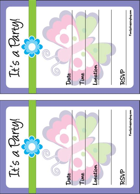 free printable butterfly birthday decorations butterfly party invitation 066250 png