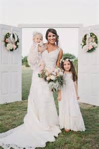 country wedding flower dresses rustic wedding lace flower dress 2228970 weddbook