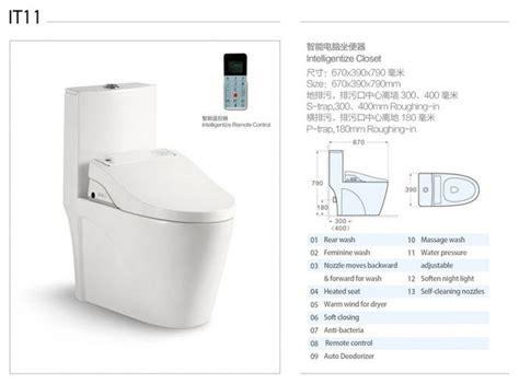 Bidet Function Casa S Electronic Smart Toilet With Bidet Spray