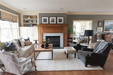 lake elmo cape cod style living room